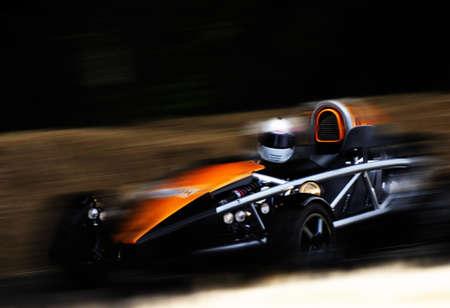 motor race: Racewagen Stockfoto