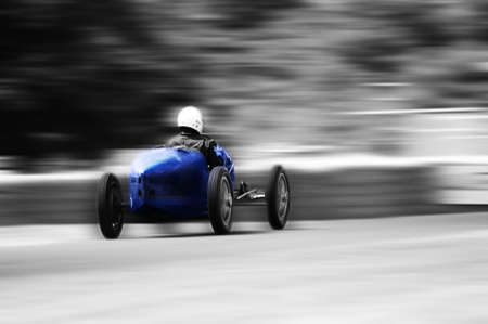 Vintage racing car photo