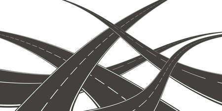 Roads Stock Photo - 5198129