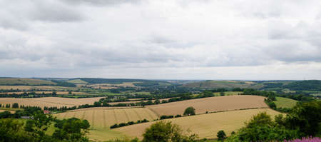 fertile land: Countryside Stock Photo