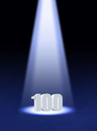one hundred photo