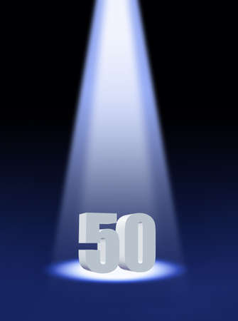 50 number: Fifty