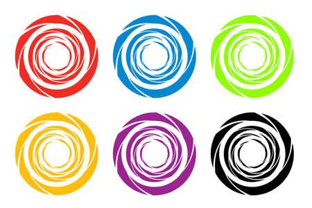 Logo icons  Stock Photo - 6410693
