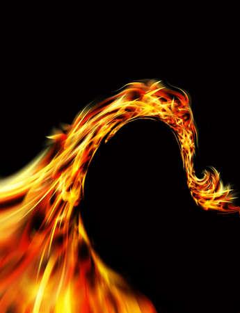 curving: curving fire