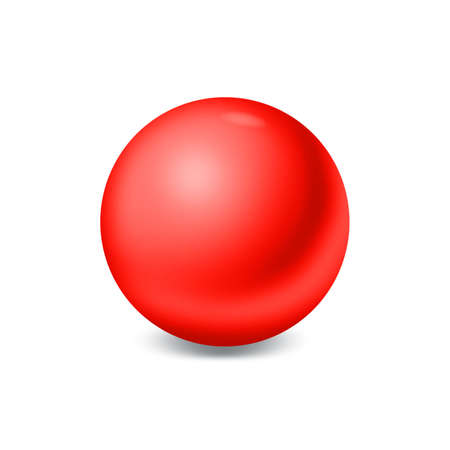 Red ball Stock Photo