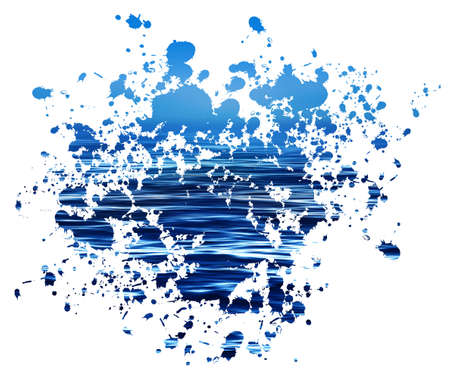 paint the ocean photo