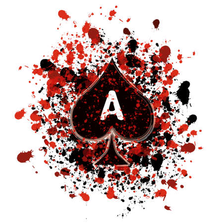 ace of spades Stock Photo - 6698168