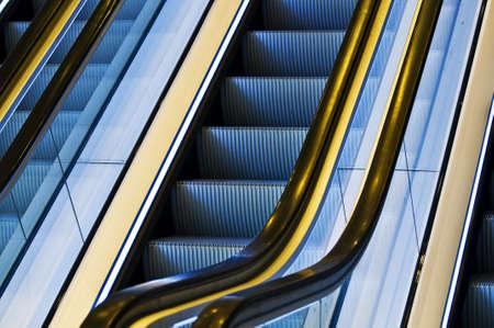 Escalator stairs photo