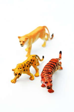 lion figurines: Toy animals