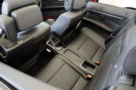 seating: Car interior Stock Photo