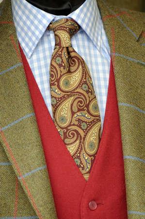 Tweed jacket an tie photo