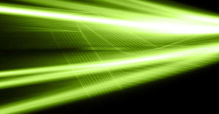 green abstract digital background Stock Photo - 7513775