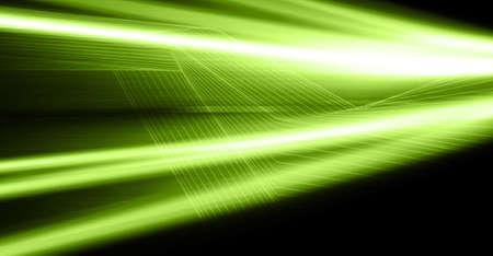 speed line: sfondo digitale astratto verde