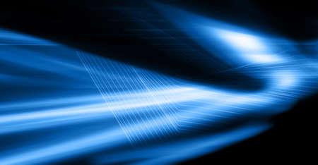 Fondo digital abstracto azul