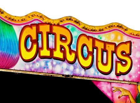 Zirkus-Zeichen