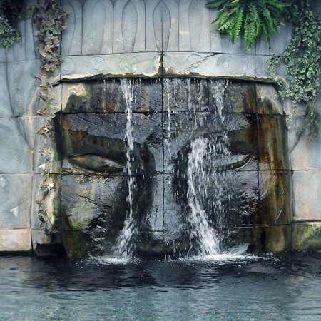ruins cascade photo