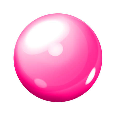 Pink sphere Stock Photo - 9166622