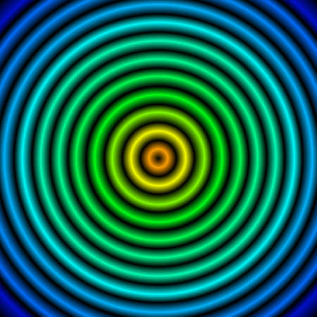 Green blue circles Stock Photo - 9166674
