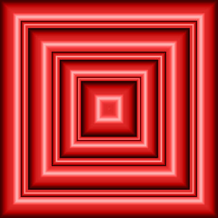 Red Abstract squares Stock Photo - 9166671