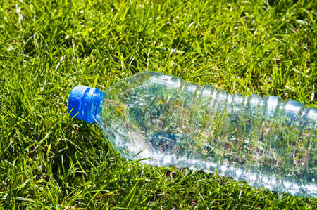 Discarded plastic bottle Stock Photo - 9267160