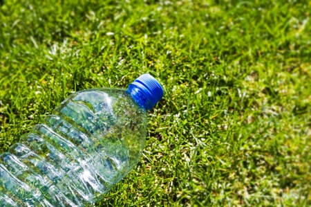 Discarded plastic beverage bottle Stock Photo - 9267156