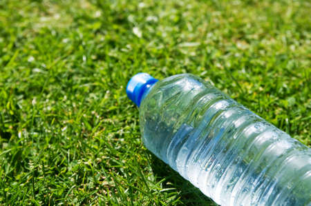 Discarded plastic beverage Stock Photo - 9267153