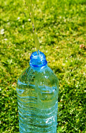 plastic bottle  Stock Photo - 9267157