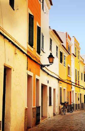 old spanish street Stock Photo - 11062884