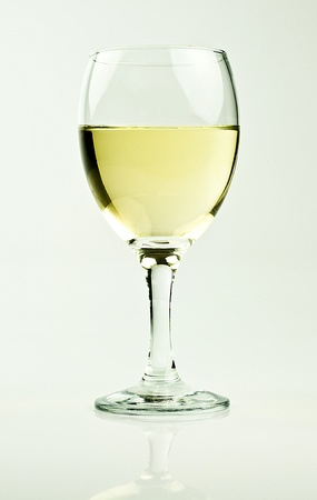 glass of white wine Stock Photo - 11190344