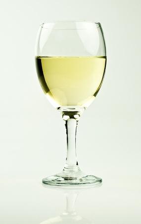 glass of white wine Stock Photo - 11190344