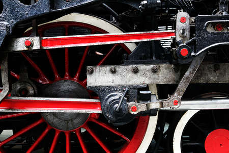 steam train wheel Stock Photo - 13233833
