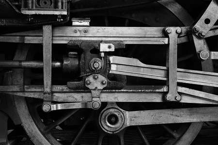 steam train wheel drive Stock Photo - 13233829
