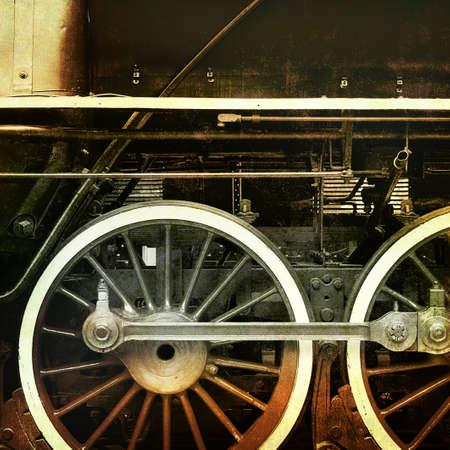 vintage train Stock Photo - 13233768