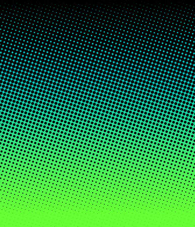 green halftone Stock Photo - 16828373