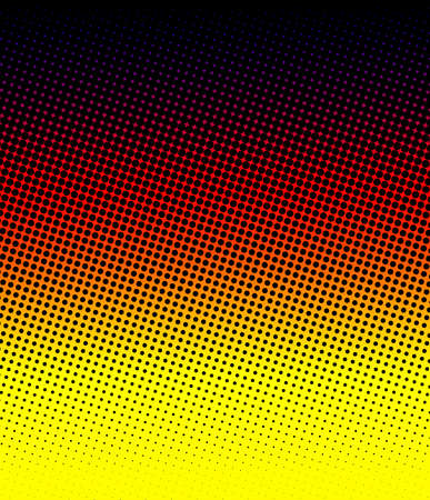 warm halftone Stock Photo - 16828370