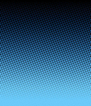 blue halftone Stock Photo - 16828372