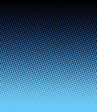 blue halftone Stock Photo - 16828372