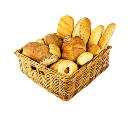 basket of bread photo