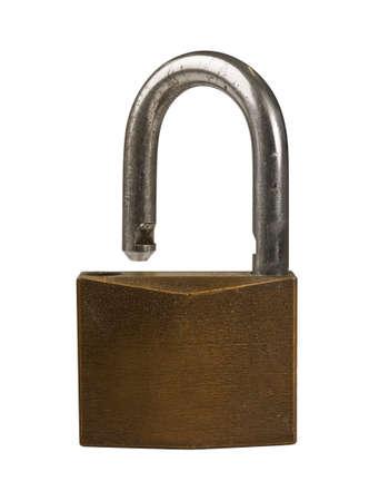 unlocked: unlocked padlock