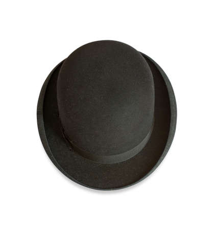 bowler: Bowler hat from above Stock Photo