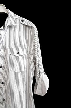 men's clothing: Pinstripe shirt