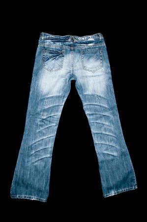 plain stitch: Denim jeans