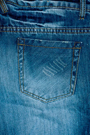 jeans pocket: Denim jeans pocket