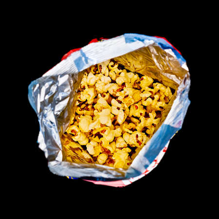 buttery: Popcorn bag Stock Photo
