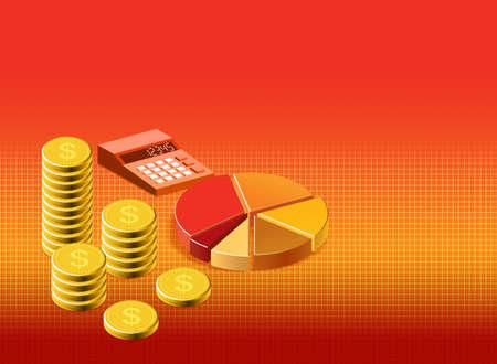 Financial background stock illustration illustration