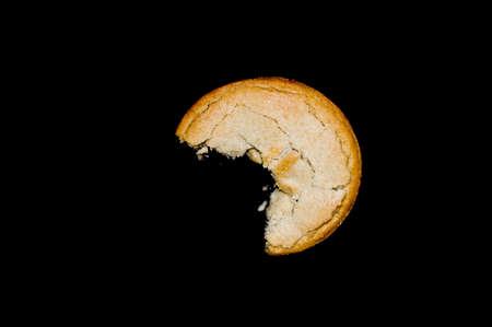 carne picada: Mordido pica la empanada Foto de archivo