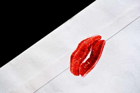 besos apasionados: Sellado con un beso