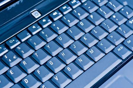 teclado de computadora: Azul Teclado de ordenador