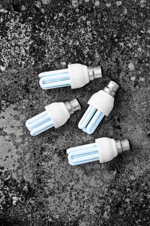 carbon emission: Energy efficient light bulbs