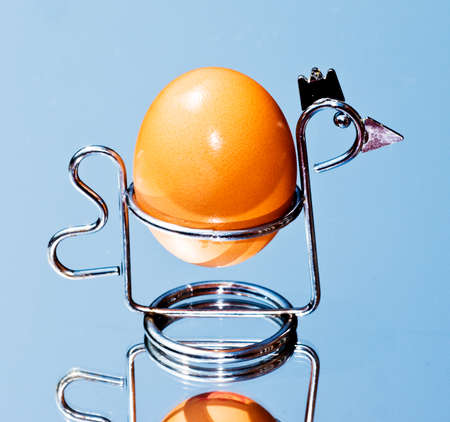 egg cup: chicken egg cup